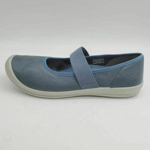 KEEN Womens Lorelai Mary Janes Shoes Blue 10W